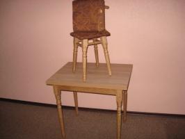 Стол кухонный поворотно-раскладной