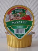 Вкусный куриный паштет с паприкой Familijne przysmaki 130 г