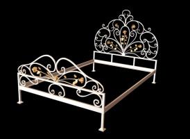 Кованая кровать «Розовая Мечта»
