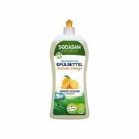 Sodasan 2557 Органическое средство-концентрат для мытья посуды Апельсин, 1000 мл