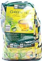 Чай зеленый байховый Qualitea, 100 пак