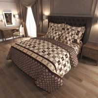 Комплект постельного белья Gold K-G-N-7010 Евро