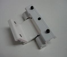 Оконно-дверные петли SARAY S-94, петли на алюминиевые двери(Турция) Белая