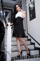 Платье «Студентка» 15556 (белый)
