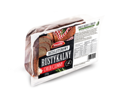 Безглютеновый рустикальный темный хлеб на закваске
