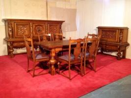 Шикарный набор мебели в столовую/гостиную. Бельгия