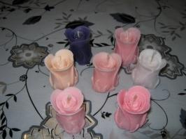 Свеча «Бутон розы»
