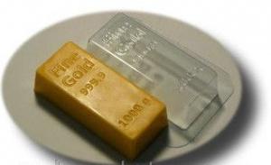 Форма для мыла «Слиток золота»!