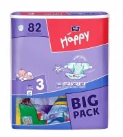 Подгузники Bella Happy 3 BIG PACK (5-9 кг) 78 шт
