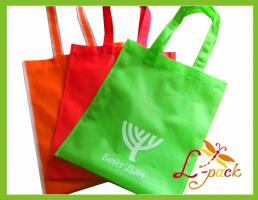Рекламные эко-сумки обычная плоская