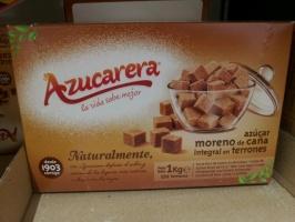 Сахар тростниковый кубиками (коричневый)« Azucarera» 1кг
