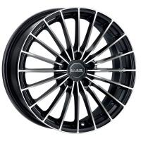7.5x17, 5x112, CH 76, ET: 47; Rim aluminium MAK Volare+ Black mirror Диск алюминиевый