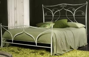 Кованая кровать «Лотос»