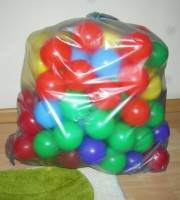 Шарики для сухого бассейна мягкие, 80 мм, 100 шаров.