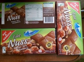 Шоколад «Edel nuss» 200 г.