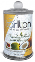 Чай черный Тарлтон Плод Страсти Tarlton Tea Passion Frui with Coconut 160 г стекло маракуя кокос