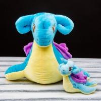 Покемон Лапрас ( Lapras ) плюшевая игрушка 15 см