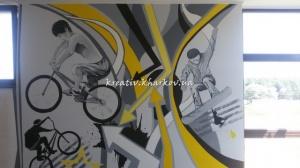 Роспись стен в детской для мальчика