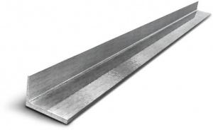 Уголок алюминиевый не равнополочный