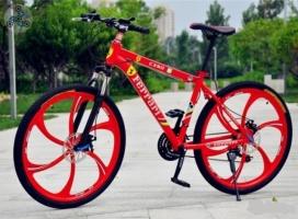 Элитный Велосипед FERRARI CX50 Red на литых дисках