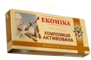 Свечи гинекологические противовоспалительные «Эконика»