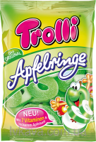 Желейные конфеты Trolli Apfelringe , 200 гр