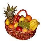 Велика корзина фруктів