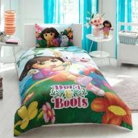 Постельное белье - Тас Дисней Dora & Boots подростковое