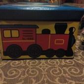 Пуф-короб для игрушек