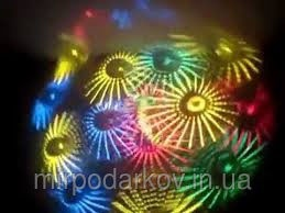 Ламповый диско проектор стробоскоп светомузыка цветомузыка