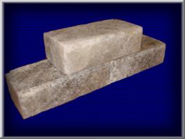 Кирпич из соли Размер -170х80х50мм. Вес - 1,6 кг. В 1 м.кв. - 117 шт.