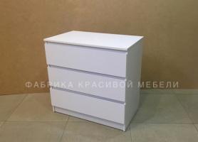 Комод Гелик-3, цвет Белый