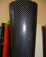 4D карбон лак черный