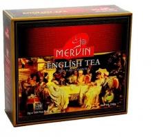 Чай Mervin черный Английский пакетированный 100*2 гр