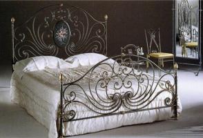 Кованая кровать «Моцарт»