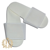 Тапочки одноразовые «Сауна эконом» (белые)