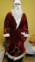 Шикарный новогодний костюм Деда Мороза!!!
