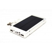 Аккумулятор внешний Power Bank 25000mAh (солнечная батарея) оптом