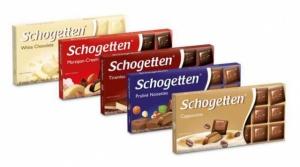 Шоколад молочний Schogetten 100г.