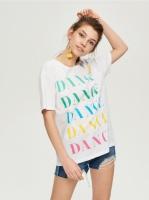 10-16 Женская футболка SinSay светится в темноте