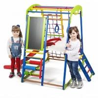 Детский спортивный комплекс SportWood Plus 3 можно сложить