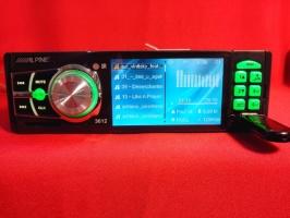 Автомагнитола Alpine 3612 1DIN, LCD, DivX, USB, SD, MP3, MP4