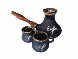 Кофейный набор турка и чашки «Coffee»
