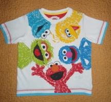 Прикольная футболка M&S на 4-5лет, 110см. ЦЕНА: 55 грн.