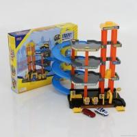 Гараж 2-е машинки, в коробке «ZHORYA»
