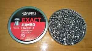Пули JSB EXACT JUMBO DIABOLO 5,5 мм