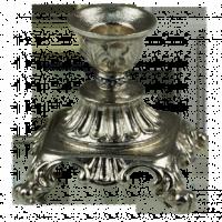 Подсвечник серебряный