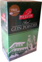 Чай Mervin Зеленый GunPowder 200 грам крупно листовой