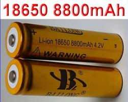 Aккумулятор Li-ion 18650 BAILONG 8800mah