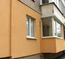 Внешнее утепление стен квартир (высотные работы)